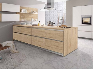 Matt Kitchen White Wood