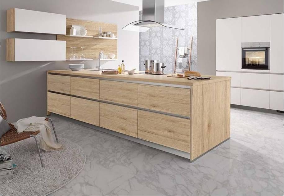 Matt Kitchen White Wood