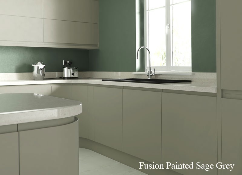 Are Matt Kitchens Becoming The New Gloss - Matt grey kitchen cupboards