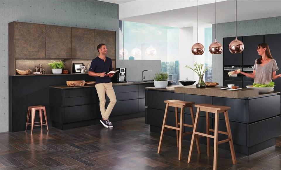 German kitchen brand launches stunning stone veneer kitchen