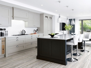 Painted Kitchen Cashmere Graphite