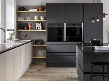 Painted Kitchen Charcoal