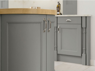 Painted Kitchen Dust Grey