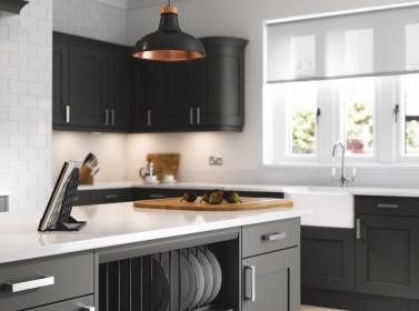Painted Kitchen Graphite