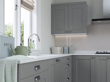 Painted Kitchen Grey