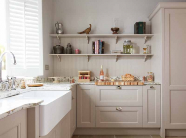 Painted Kitchen Ivory