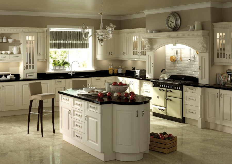 Painted Kitchen Ivory TK