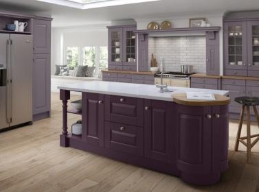 Painted Kitchen Lavender