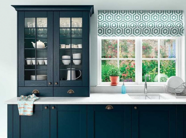 Painted Kitchen Marine Blue