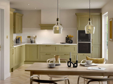 Painted Kitchen Olive