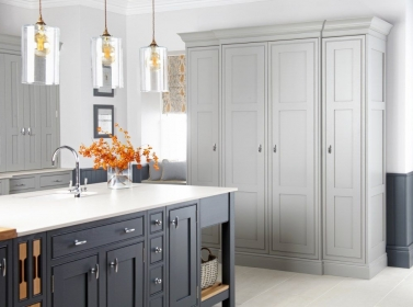 Painted Kitchen Seal Grey