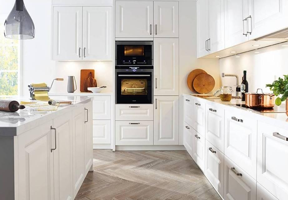Painted Kitchen White