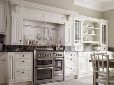 Painted Kitchen White