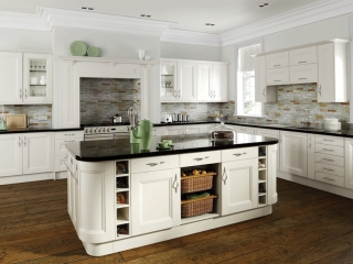 Painted Kitchen Off White