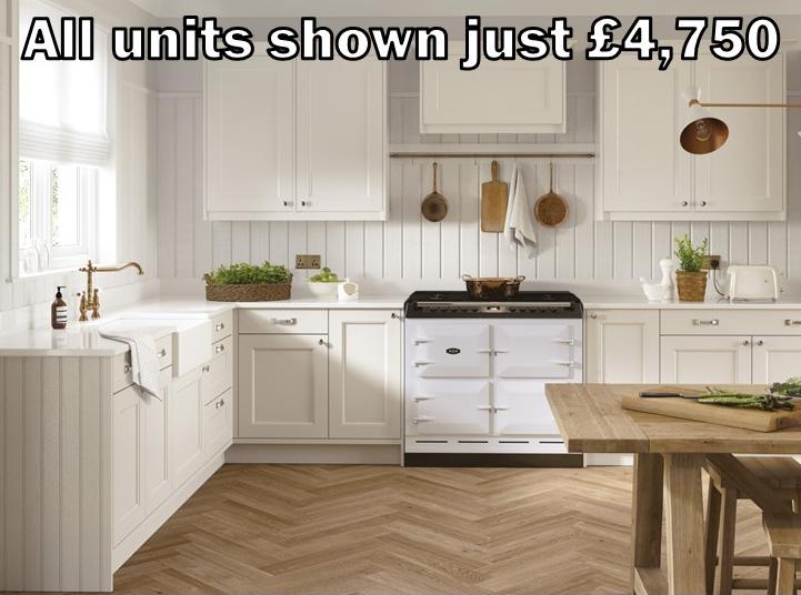 Porcelain shaker kitchen 2.1