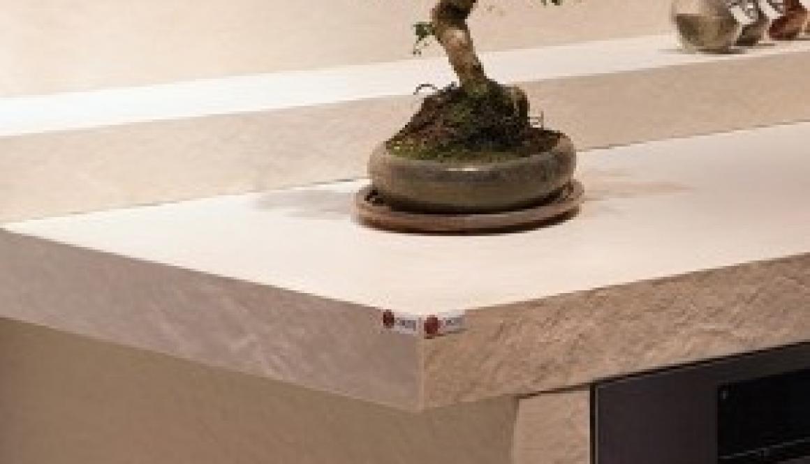 Quartz worktop Okite Effetto Roccia 3