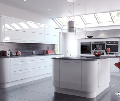 White Gloss Kitchen 6