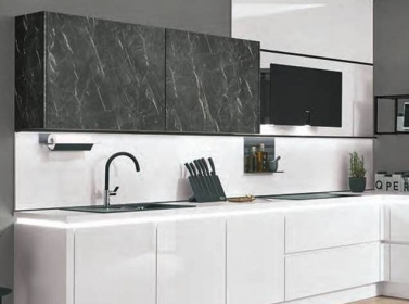 White Gloss Terano Kitchen