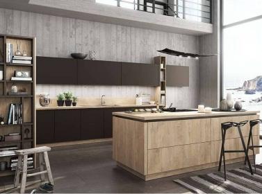 Wood Kitchen Brown BF