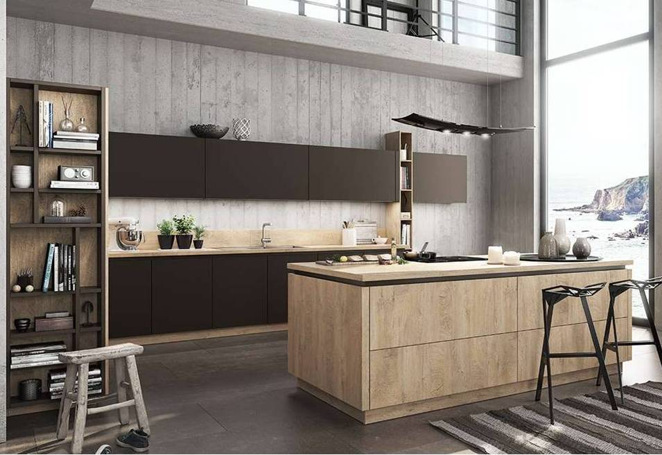 Wood Kitchen Brown BF