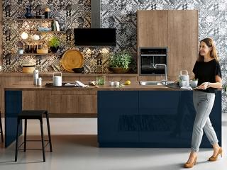 Wood Kitchen Crem Oak SCH