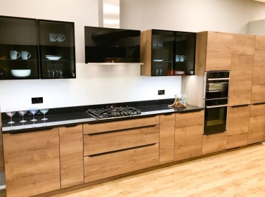 Wood Kitchen Dark Oak