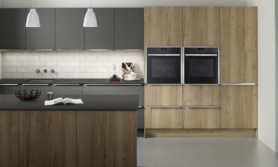 Wood Kitchen Graphite PWS