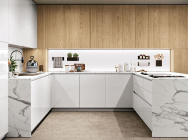 Wood Kitchen Light Oak