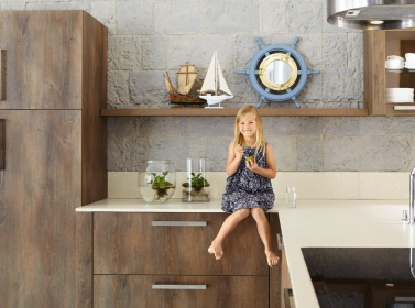Wood Kitchen Nautical Oak