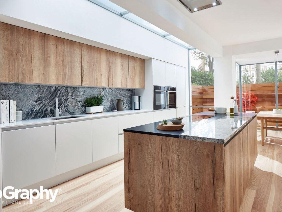 Wood Kitchen Oak PWS