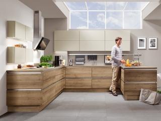 Wood Kitchen Ontario Oak NOB