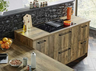 Wood Kitchen Rustic Oak