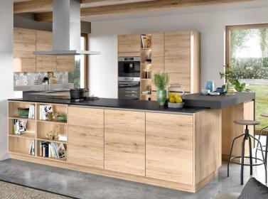 Wood Kitchen Sand Oak