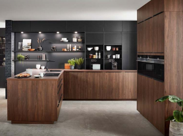Wood Kitchen Walnut