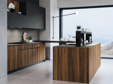 Wood Kitchen Walnut