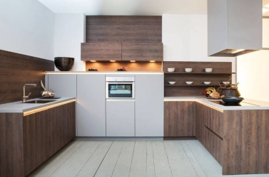 Wood Kitchen Walnut ROT