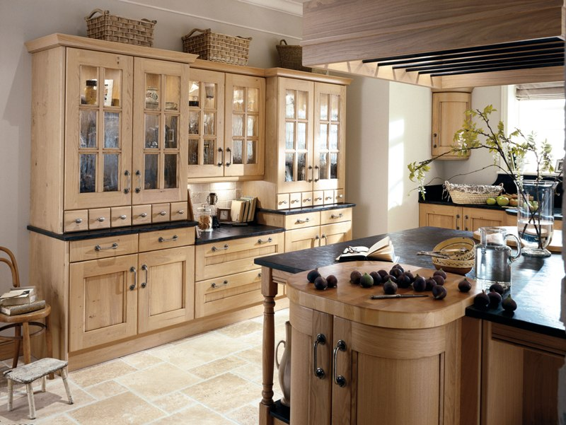 Wood Kitchen Washed Oak