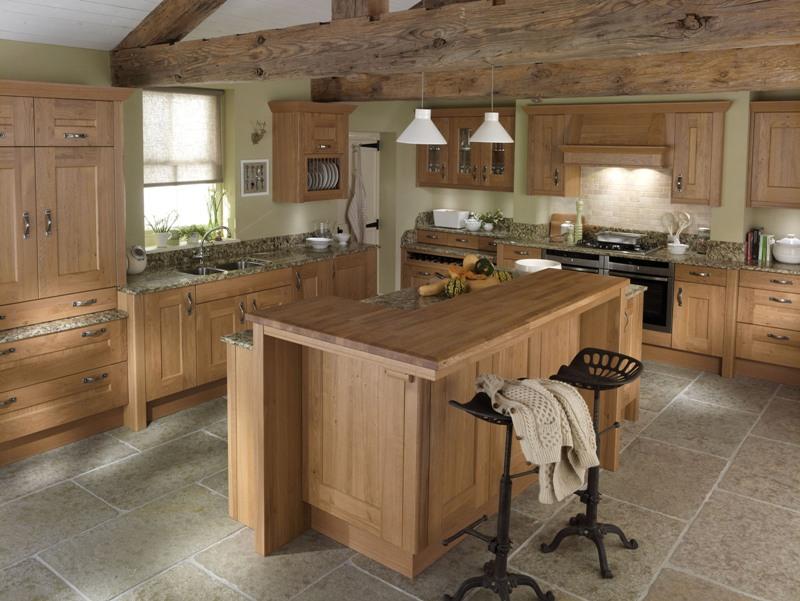 Wood Kitchen Classic Oak