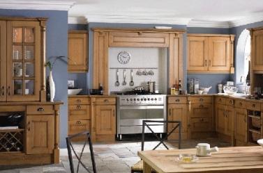 Wood Kitchen Knotty Oak