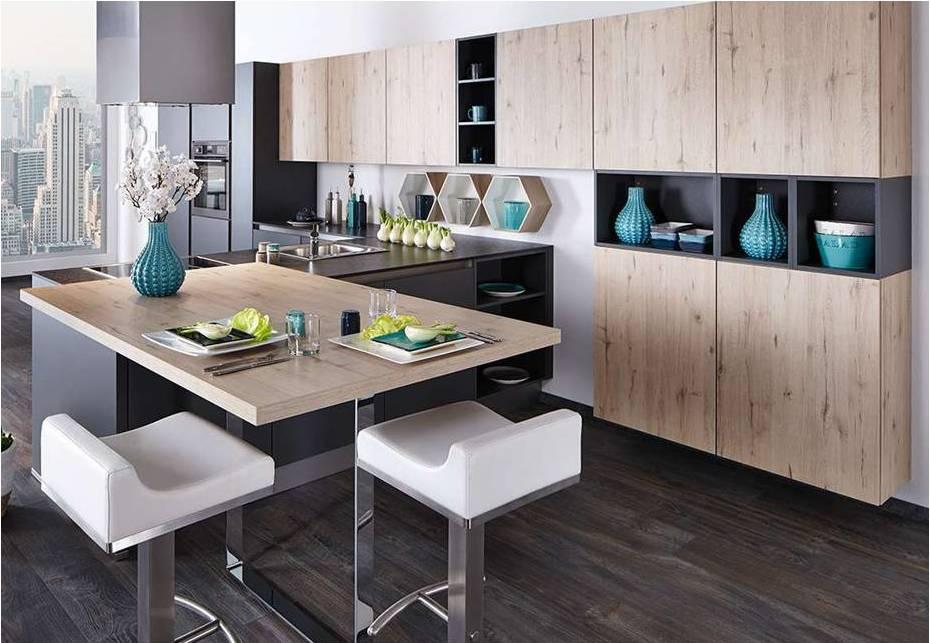 Wood Kitchen Sand Oak BF 3