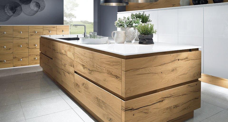 Wood Kitchen Split Oak 2 SCH