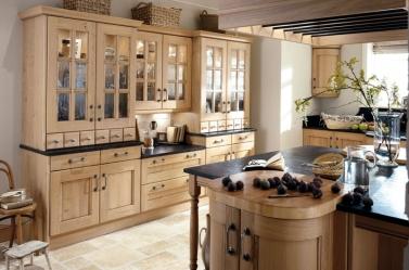 Wood Kitchen Washed Oak
