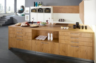 Wood Kitchen Wild Oak