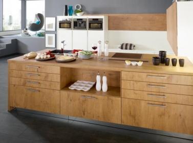 Wood Kitchen Wild Oak