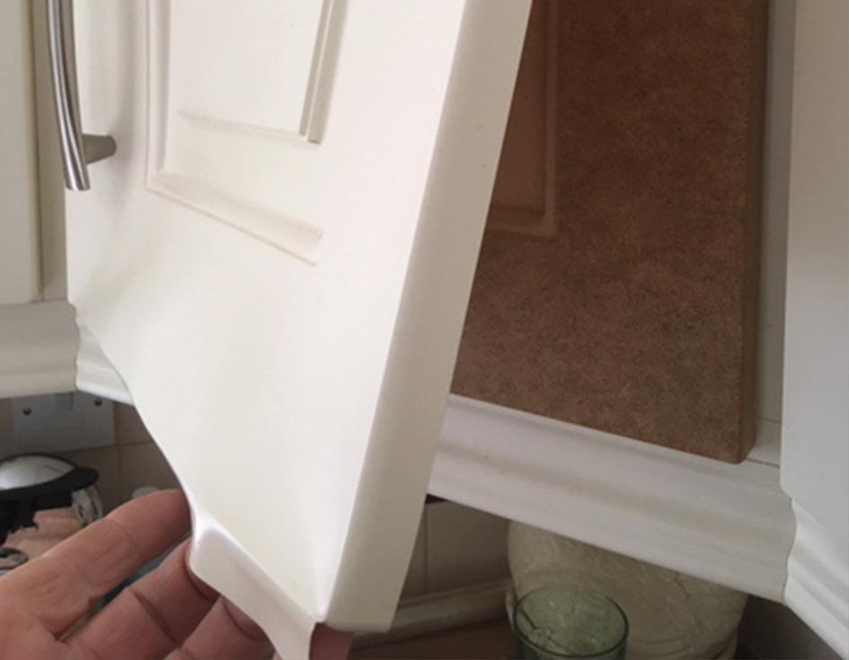 Wrapped Kitchen Door 5