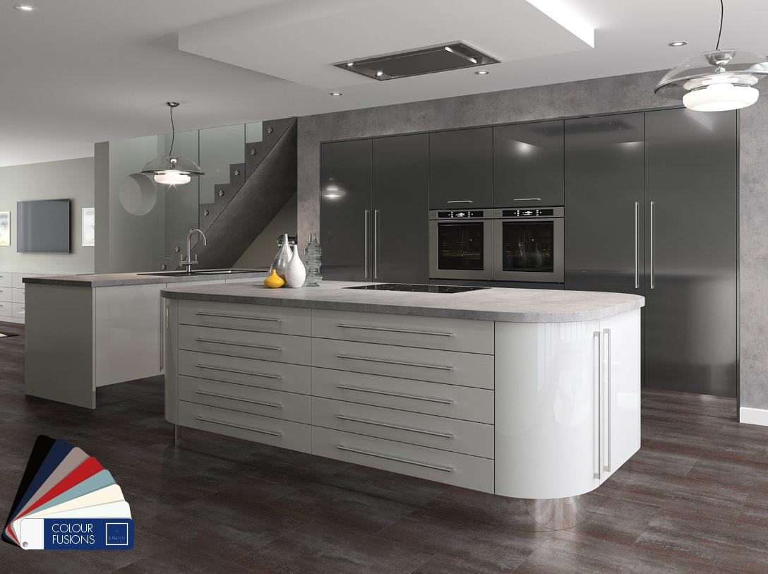 Acrylic Kitchen Doors The Ultimate Gloss Kitchen