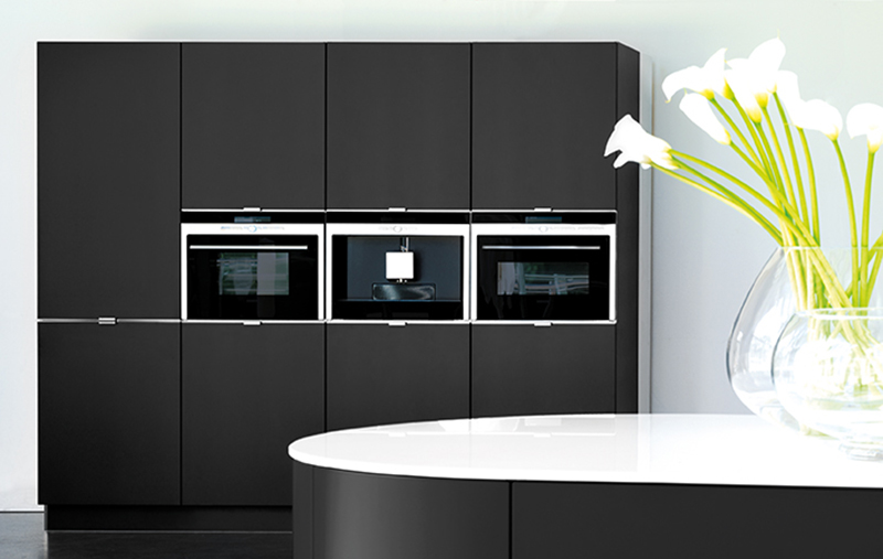 Are Black Kitchens Becoming The New Grey - Dark grey matt kitchen