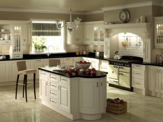 Country Kitchen Ivory