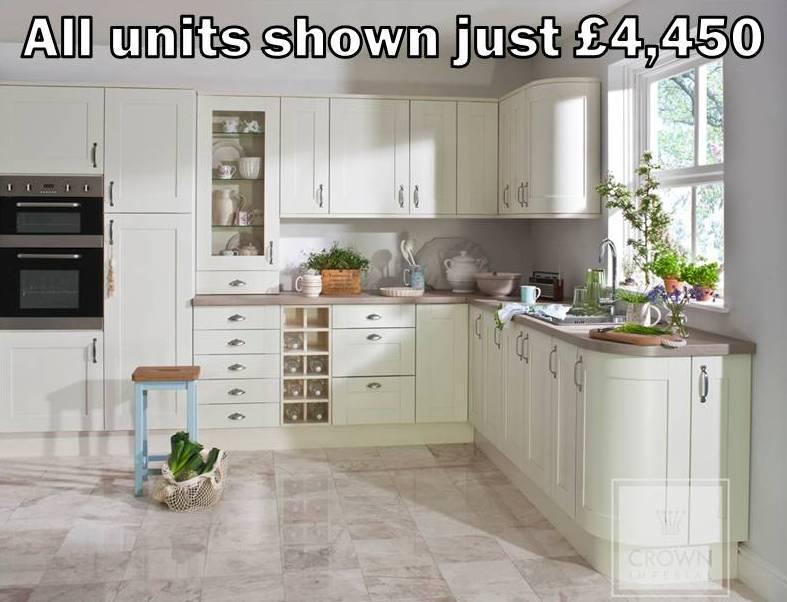 cream shaker kitchen 18