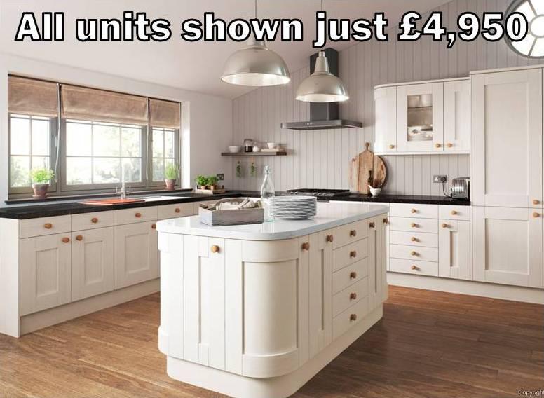 cream shaker kitchen 37